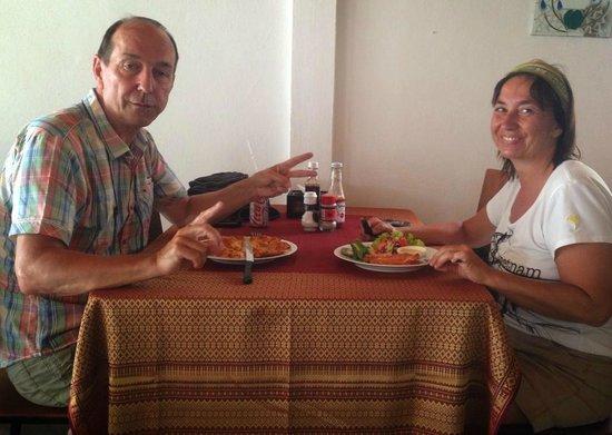 The Fish Restaurant  (Mae Nam): customer