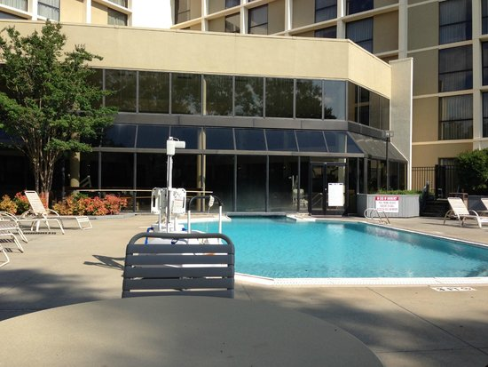 Nice Indoor Pool Area Foto Di Greensboro High Point Marriott Airport Greensboro Tripadvisor