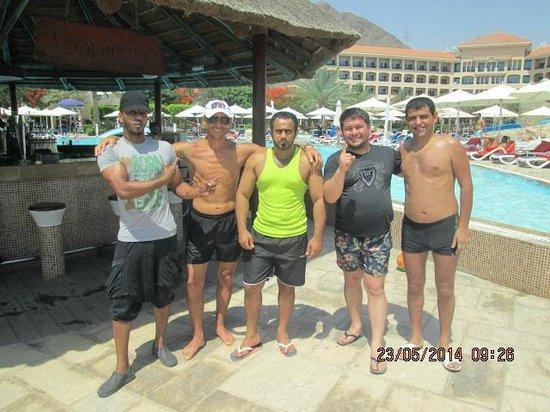 فندق الفجيرة روتانا: бар у бассейна