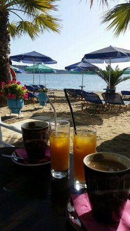 Katelios, Yunani: Breakfast at Nemesis is a must :)