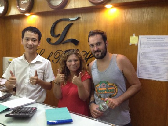 Tu Linh Palace Hotel 2: River- possibly one of the nicest guys ever, plus he is pretty cool... ��