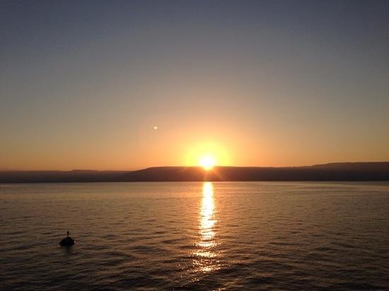 Little Tiberias : Sunrise on the Sea of Tiberius