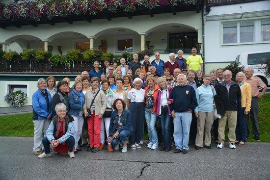 Panoramahotel Gürtl: Spanische und Deutsche Bergfreunde