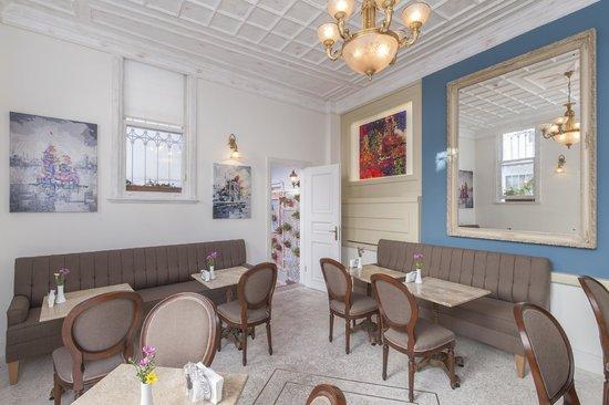 Hotel Darussaade Istanbul: bistro cafe bar