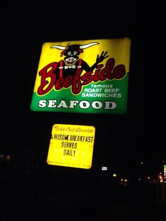 Beefside: Dinner after the NASCAR Race