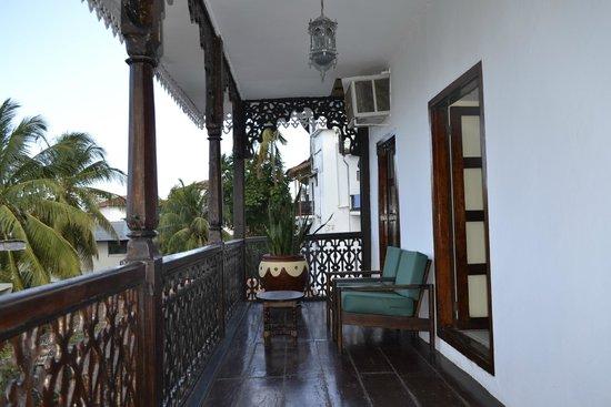 Zanzibar Hotel : BALCONY