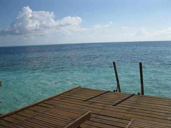 VOI Dhiggiri Resort : foto del mare dalla stanza