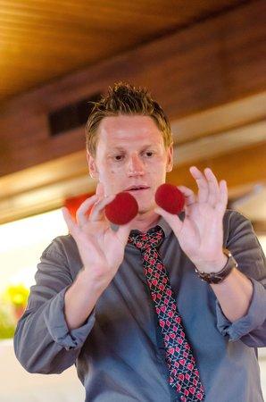 Bianco Restaurant : Excellent magician