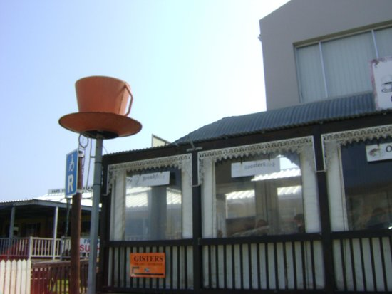 Gisters Restaurant: Landmark teacup