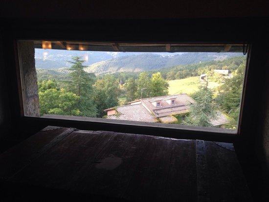 Hotel Prategiano - Maremma Toscana : Finestra panoramica del salotto!
