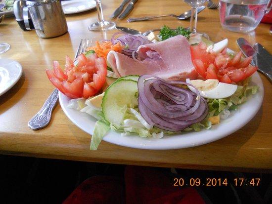 Hotel Craig-Y-Don: delicious sallad