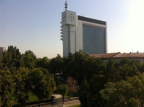 Lotte City Hotel Tashkent Palace : View from my room