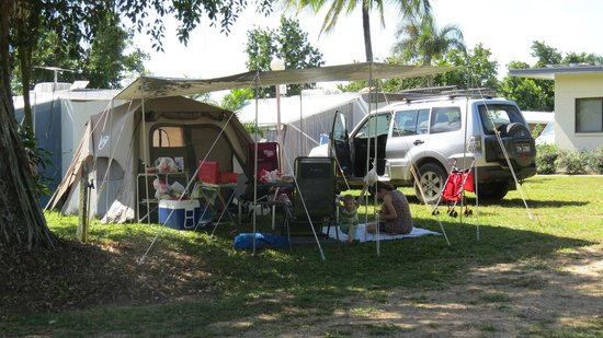 Dunk Island View Caravan Park: Camp site