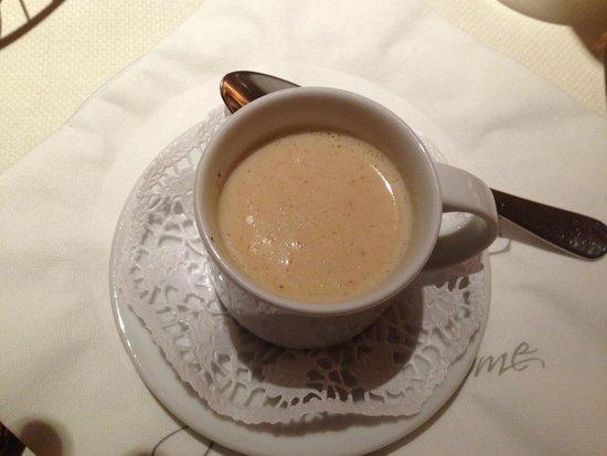 Welcome Hotel Marburg: zuppa con funghi