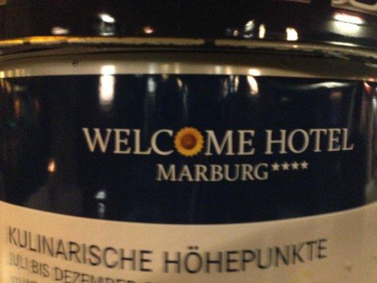 Welcome Hotel Marburg: ingresso