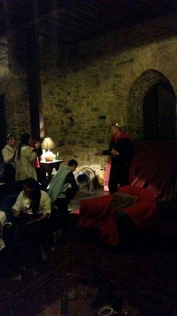 Ballaghmore Castle: Banquet Hall