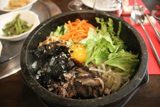 Bibimbap Picture Of Restaurant Coreen Seoul Opera Paris Tripadvisor