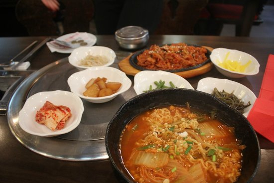 Whole Meal Picture Of Restaurant Coreen Seoul Opera Paris Tripadvisor