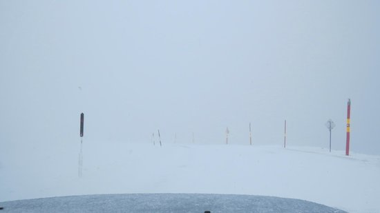 Mount Hotham Alpine Resort: Driving can be hazardous. Whiteout can just be around the corner.