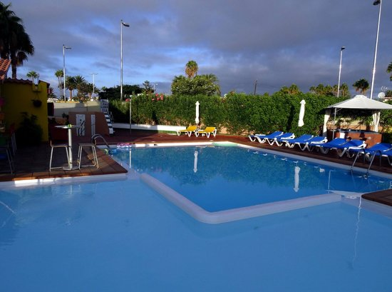 The pool at Tropical La Zona
