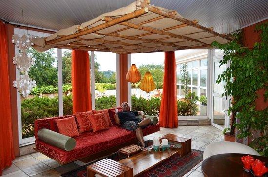 Boutique Hotel Varanda das Bromelias: Área de relaxamento
