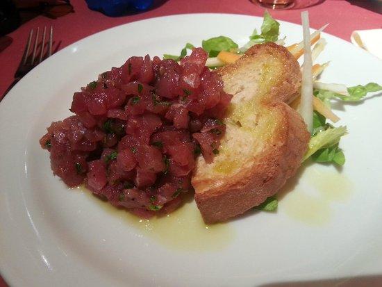 Osteria Boccon del Prete: la tartara di tonno...superlativa!