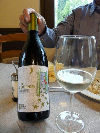 Ittiturismo Ristorante Mella : buen vino blanco