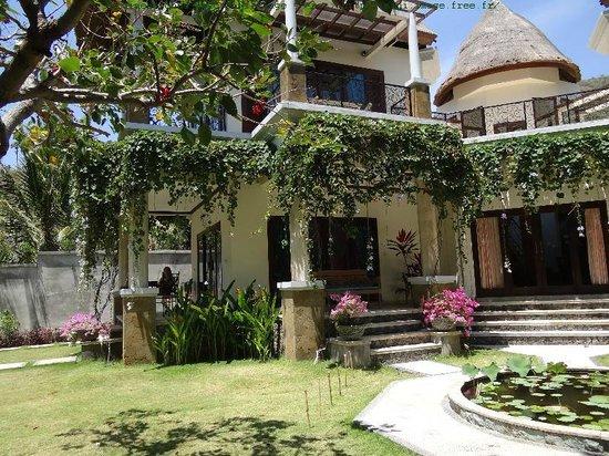 Villa Sky Dancer: vue sur les  2 terrasses