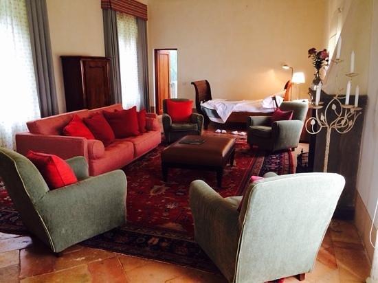 Borgo Pignano: sala musica - settembre 2014