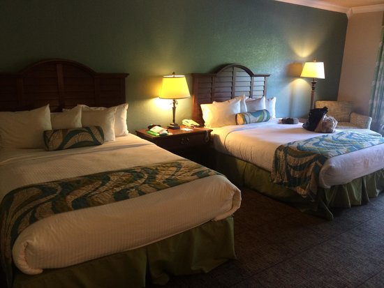 BEST WESTERN Key Ambassador Resort Inn: Room with 2 double beds