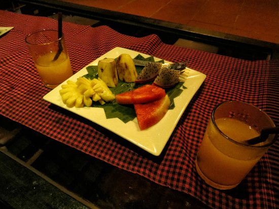 Areca Angkor Boutique: welcome snack and drink