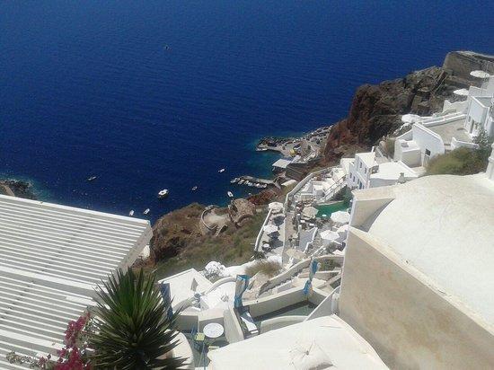 Oia Collection Suites and Villas : Vistas desde La Suite de Lovers