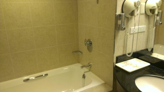 Fullon Hotel Jhongli : I love it when I have a bathtub