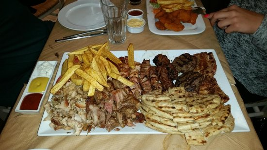 Chill and Grill: Mixed platter