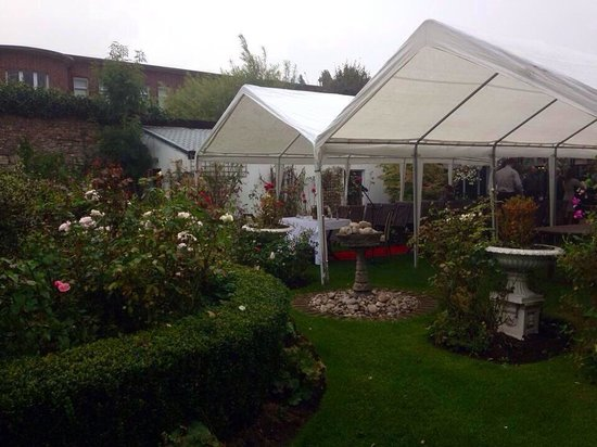Beaufield Mews: Set up for the wedding