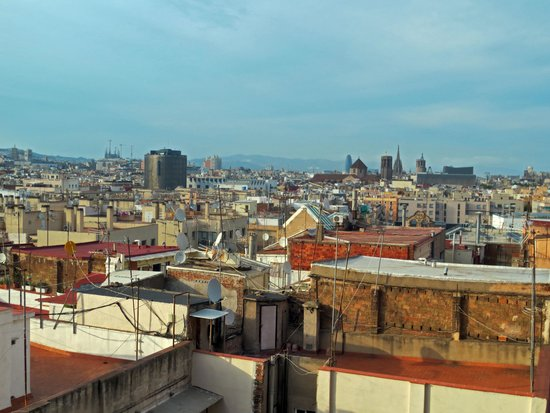 Barcelona Universal Hotel: View from hotel