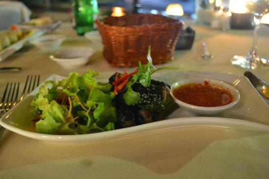 Mezzanine Bar & Restaurant: Japanische Vorspeise