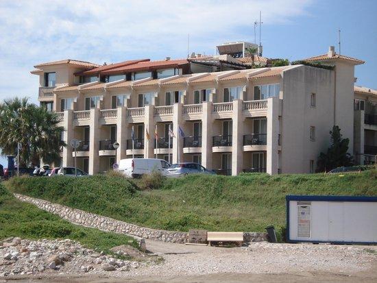 Hotel Estela Barcelona - Hotel del Arte: Estella Barcelona from the Beach