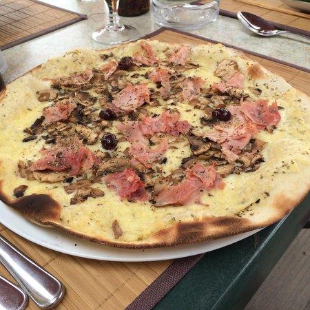 Beach Club : Pizza reine blanche