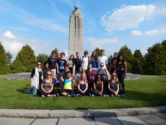 WW1 Tours: At the Brooding Soldier Memorial
