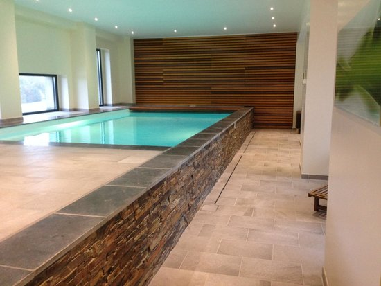 piscine interieure photo de domaine de la poignardi re chatillon sur indre tripadvisor. Black Bedroom Furniture Sets. Home Design Ideas