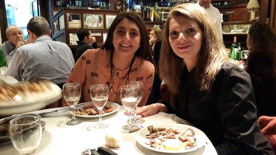 Pontevedra: Cena española.