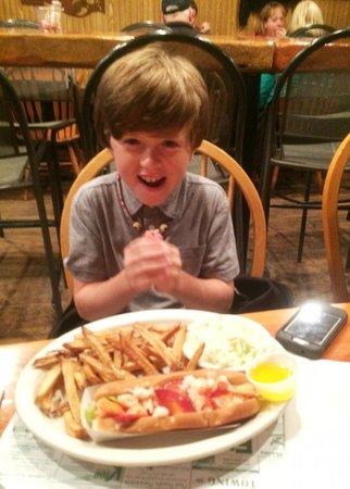 Flatlanders : Lobster roll anticipation!