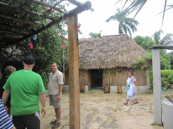 The Native Choice Tours: The Mayan Village where we had lunch