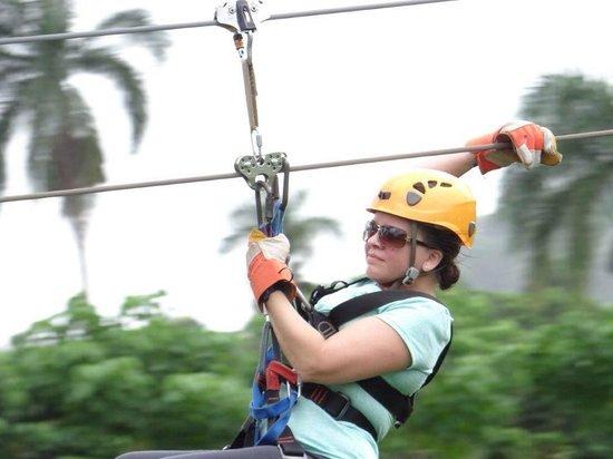 Canopy Adventure Zip Line Tours : Canopy Adventure Tours, Punta Cana, DR Sept 2014