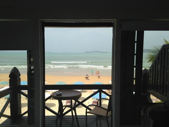Chez Pitu Praia Hotel: de dentro do quarto