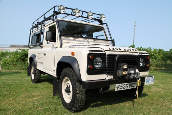 Land Rover Safari Wine Tours