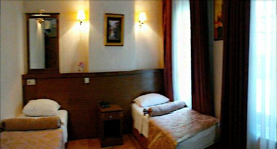 Maritime Hotel: one of the many combination of rooms
