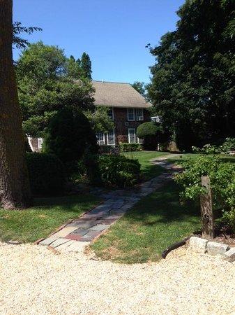 Gansett Green Manor: Front of main house