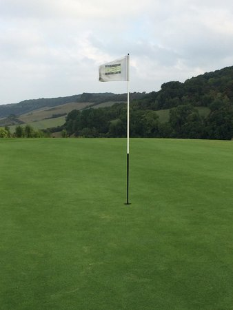 Eynsford, UK: 13th green
